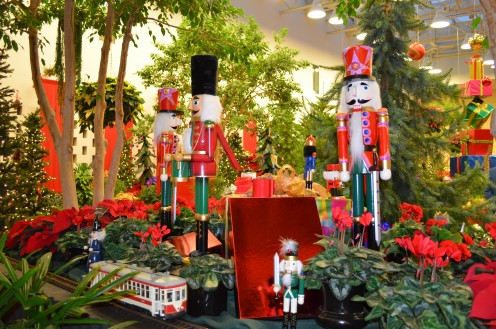 Nutcracker collection at the Gardeland Express Show a few years back.