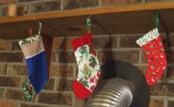 Easy DIY How to Make a Christmas Stocking for a Pet
