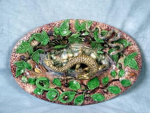French Ceramic Art by Bernard Palissy