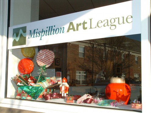 Come see the beautiful window displays and browse through the gallery in search of unique art work to give as gifts.
