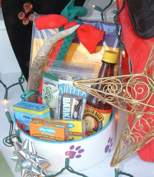 Fur-Baby sells gift baskets for pets and many other specialty treats and items.