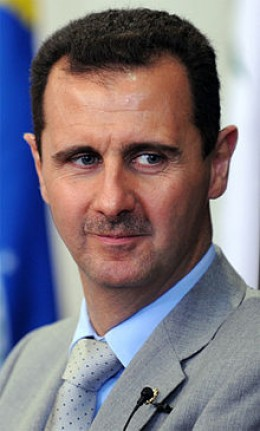 President Bashar Al Assad is fighting to retain his power against the rebels in Demascus