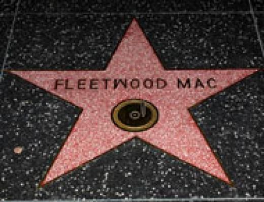 Fleetwood Mac: Stevie Nicks, Lindsey Buckingham, Christine McVie, John McVie, Mick Fleetwood  Location: 6608 Hollywood Blvd.