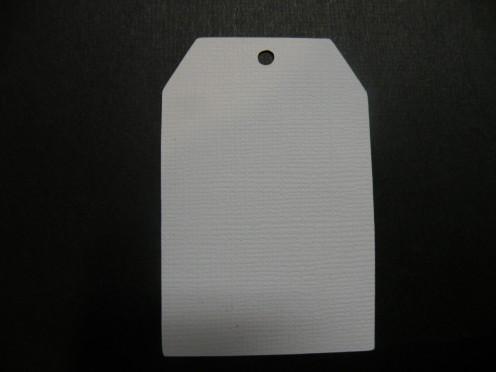 White untextured cardstock