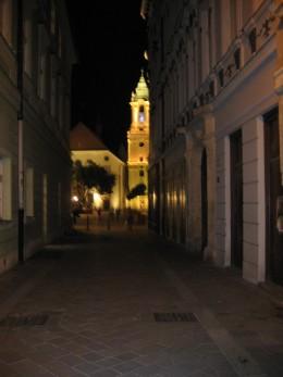 Church in Bratislava, Slovakia