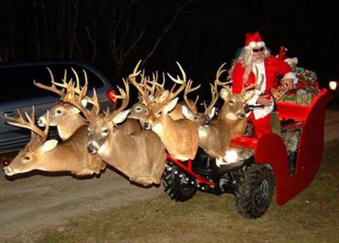 A redneck sleigh