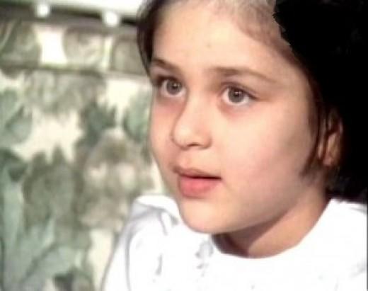 Kareena kapoor cute childhood photos
