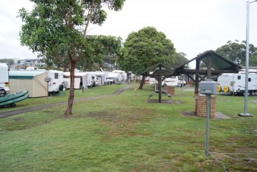 Halifax Caravan Park, Nelson Bay NSW