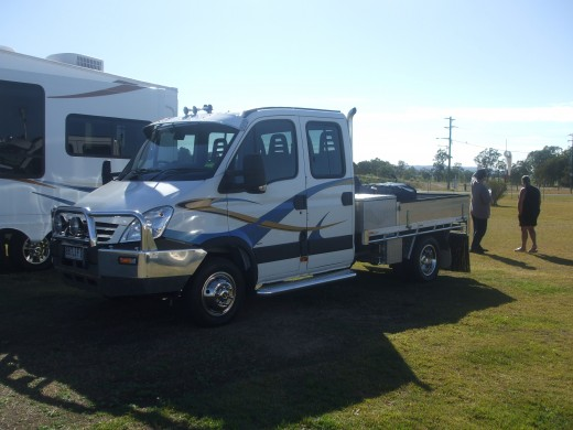 Iveco Daily twin cab 5th wheeler tow vehicle