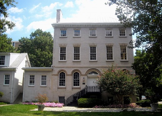 "1796 Thomas Law House, AKA ""Honeymoon House"" in Southwest, DC"