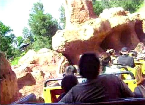 Big Thunder Mountain Ride at Disneyland, Anaheim, California
