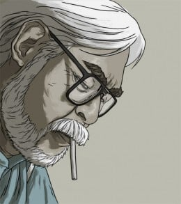 Hayao Miyazaki by Artist Nicolas Rix