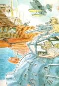 Miyazaki's Sketch for Porco Rosso
