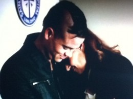 Puck comforts Shelby when she is emotionally fragile.