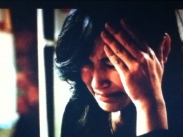 Santana's heart breaks at her abuela's rejection.