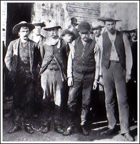 From L to R: John Wesley, Henry Brown, Billy Smith and Ben Wheeler
