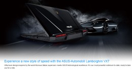 ASUS-Automobili Lamborghini VX7 Laptop/Notebook