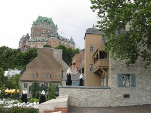 The Chateau Frontenac in Québec City, Canada