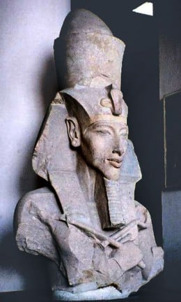 Bust of Pharaoh Akhenaten