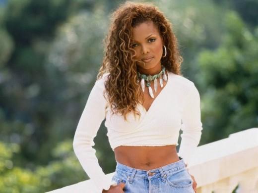 Janet Jackson hairstyle.
