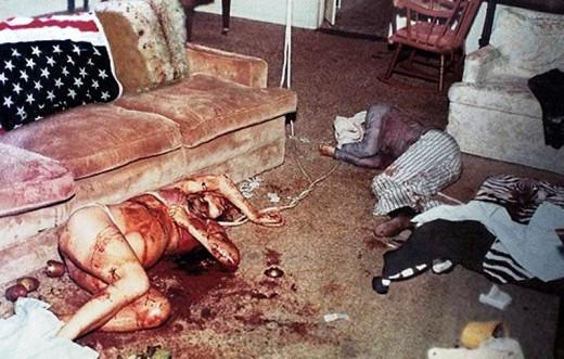Sharon Tate Murder Scene...