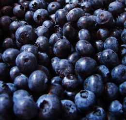 Make sure to wash your blueberries!