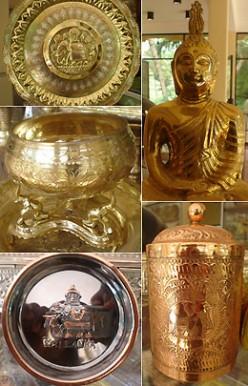 Sri Lankan Fabulous Brass Art Work of Kandy