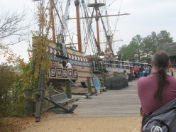 Replicas of the Susan Constant, Godspeed, and Discovery
