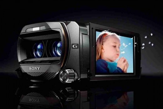 Sony 3D  Handycam HDR-TD10