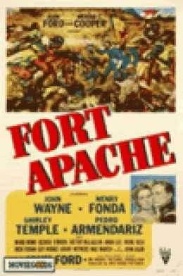 Poster for John Ford's Fort Apache