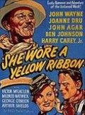 Poster for John Ford's She Wore A Yellow Ribbon