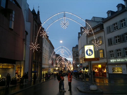 Basel Shopping Center Christmas Market, Switzerland
