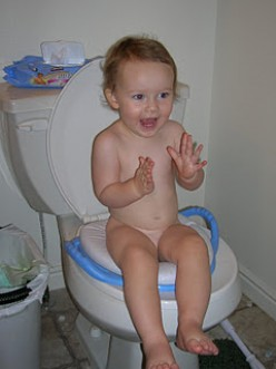 How do you train your child to use potty/ toilet ?