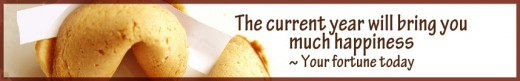 Hurrah! This is your fortune today! Calorie free.