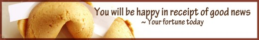 Whoopee! This is your fortune today. Sugar-free.