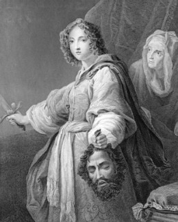 Judith with the Head of Holofernes. Image: © Georgios Kollidas - Fotolia.com