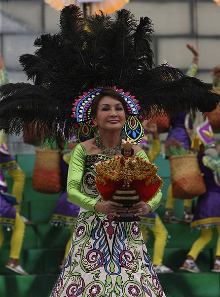 Cebu Governor Gwendolyn Garcia join the festival