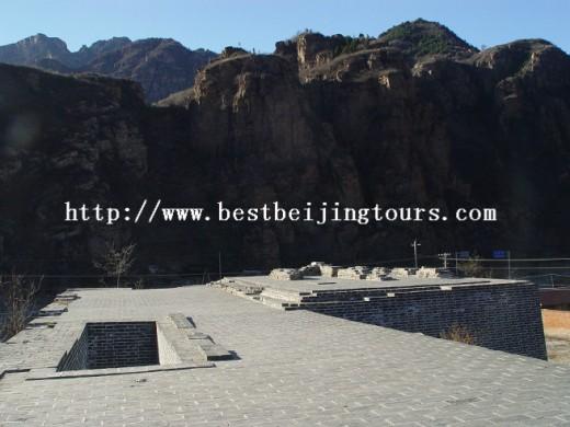 Located in the northeast of Beijing , Pinggu district