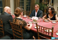 Tom, Gail, John Besh and Padma