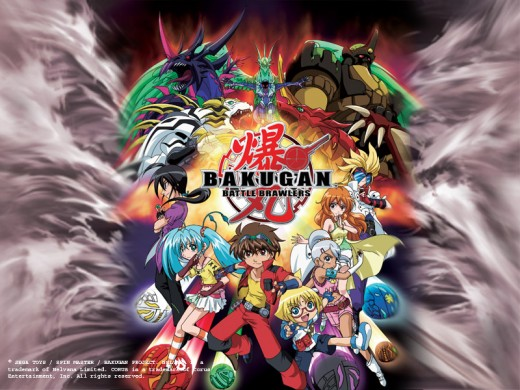 Bakugan Characters - Group