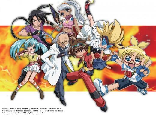 Bakugan Characters Group2
