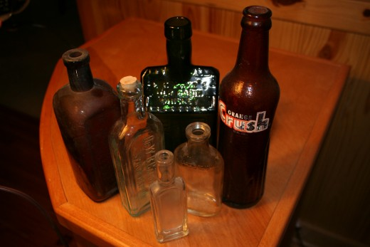 Bottles are made in all shapes and sizes and make great collectibles