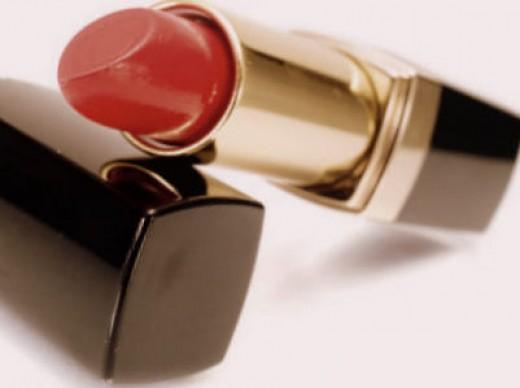 A lipstick tube