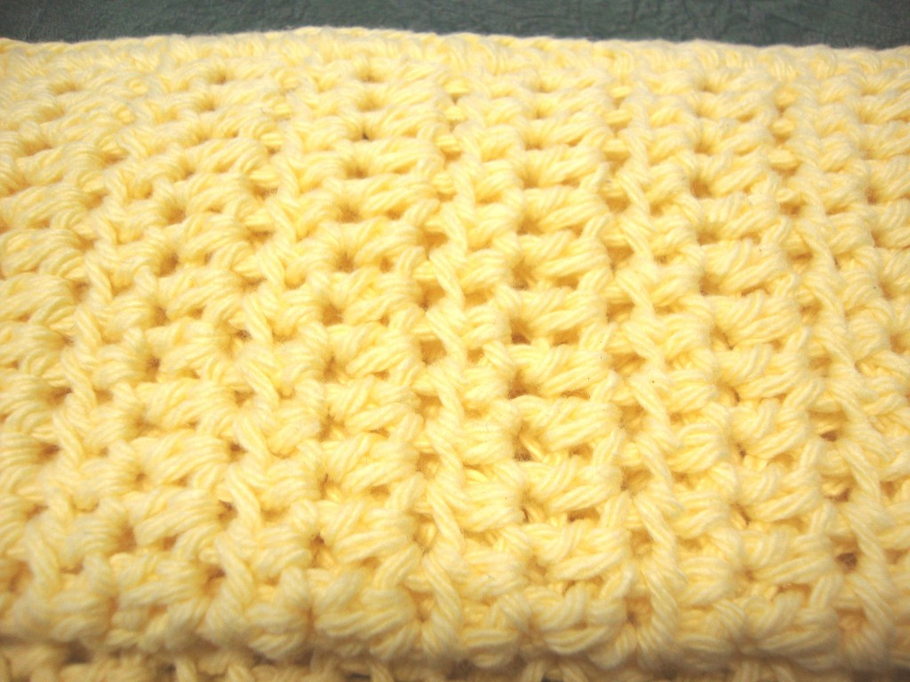 Crochet Patterns Using Cotton Thread : ... to Make a Crocheted Dishcloth--Easy Pattern Using Half Double Crochet