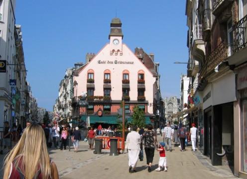 Grande Rue, Dieppe and 'Café des Tribunaux',