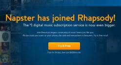 Good-Bye Napster, Hello Rhapsody?