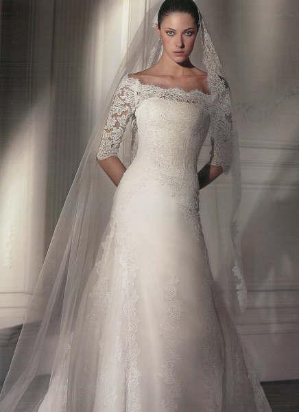 dalmacia wedding dress. photo credit: hemandherbridal.com