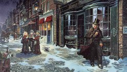 Ebenezer Scrooge - Thank You, Charles Dickens, for the Christmas Carol!