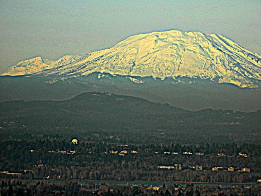Mt Saint Helens From Portland Heights