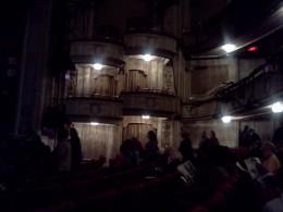 Inside the Cort Theatre